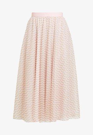 SKIRT - Pleated skirt - pink