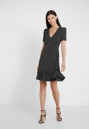 ELEV  - Jersey dress - black/bone