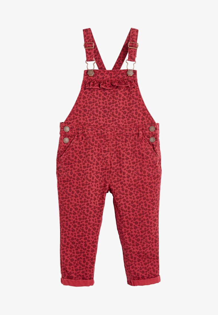 Next - DUNGAREES - Dungarees - red