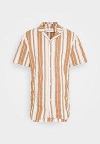 REVOLUTION - SHORT SLEEVED CUBAN SHIRT - Shirt - brown - 5