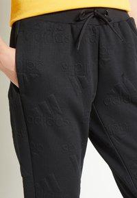 adidas Performance - Teplákové kalhoty - black - 5