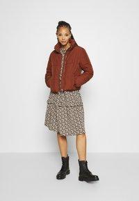 JDY - JDYNEWERICA PADDED JACKET - Winter jacket - cherry mahogany - 1
