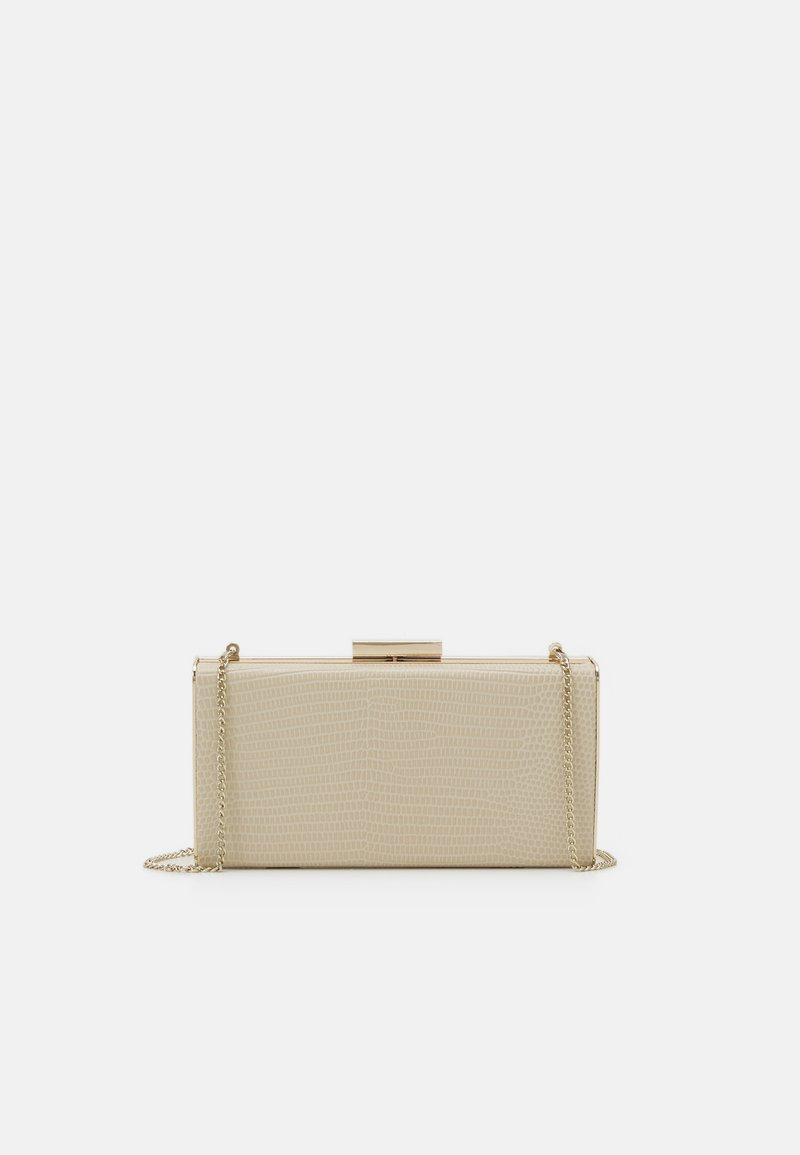PARFOIS - BOX BAG  - Clutch - beige