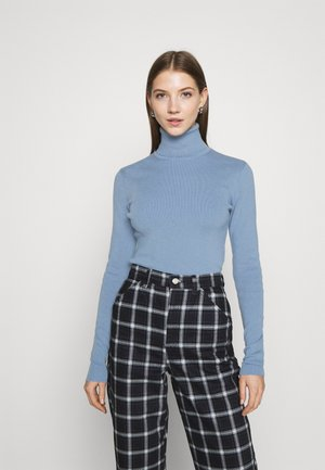 KIRSTEN TURTLENECK - Jumper - dove blue