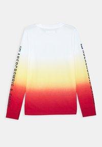Abercrombie & Fitch - VINTAGE PRINT LOGO - Long sleeved top - orange - 1