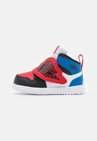 white/black/university red/sport blue