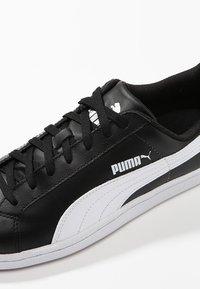 Puma - SMASH L - Sneakers laag - black-white - 5