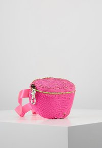 J.CREW - SEQUIN FANNY PACK - Bältesväska - neon pink - 4