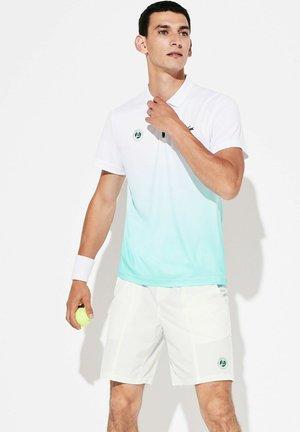 GH3601 - Sports shorts - weiß türkis grün