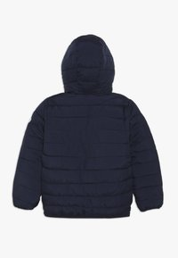 Superdry - REVERSIBLE FUJI - Chaqueta de invierno - downhill navy/fresh green - 1