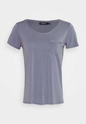 COLUMBINE TEE - Basic T-shirt - flint stone