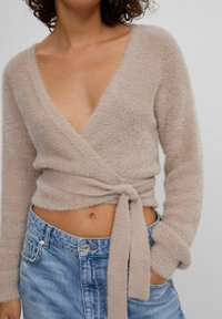 Bershka - Cardigan - brown - 3
