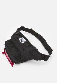 Alpha Industries - TACTICAL WAIST UNISEX - Bum bag - black - 3