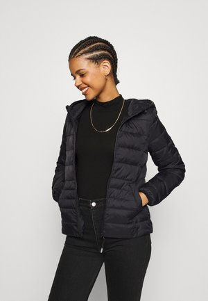 VMMIKKOLA SHORT HOODY JACKET - Light jacket - black