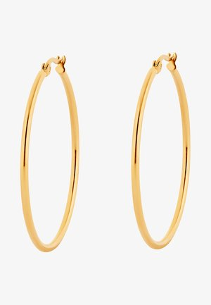 CREOLE MIT CLIP - Earrings - goldfarben