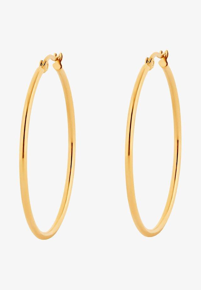 CREOLE MIT CLIP - Oorbellen - gold-coloured