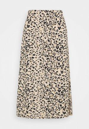 DEMI SKIRT - A-line skirt - beige