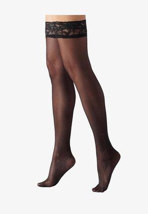 Over-the-knee socks - black