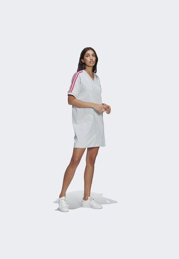 3D TREFOIL TEE DRESS - Vestido ligero - blue