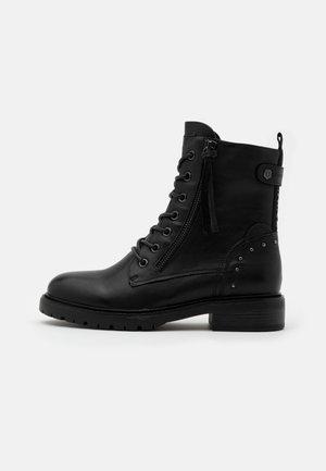 LADIES  - Cowboy/biker ankle boot - black
