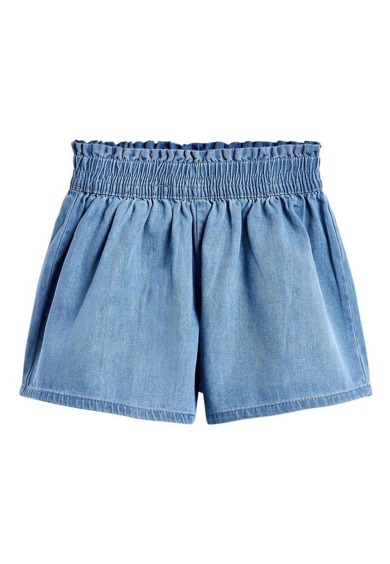"Next - MID BLUE TENCELÂ""¢ SKORT (3-16YRS) - Denim shorts - blue"