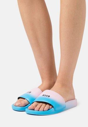 CIABATTA DONNA WOMAN`S SLIDE - Mules - pink/light blue