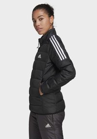 adidas Performance - ESSENTIALS PRIMEGREEN OUTDOOR DOWN - Down jacket - black - 2