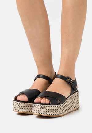 JAMAICA - Sandály na platformě - schwarz