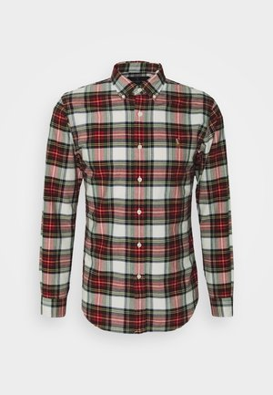 OXFORD - Shirt - white/red