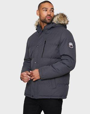 ARNWOOD PADDED - Winter jacket - charcoal