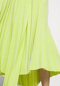 MRZ - PLEAT SKIRT - Plisovaná sukně - lime - 4