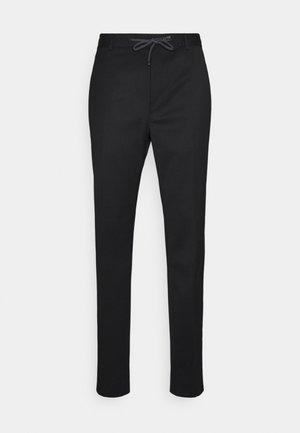BENS - Suit trousers - black