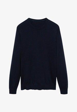 TEN - Sweatshirt - azul marino oscuro