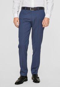 s.Oliver BLACK LABEL - CESANO  - Suit trousers - dark blue - 0