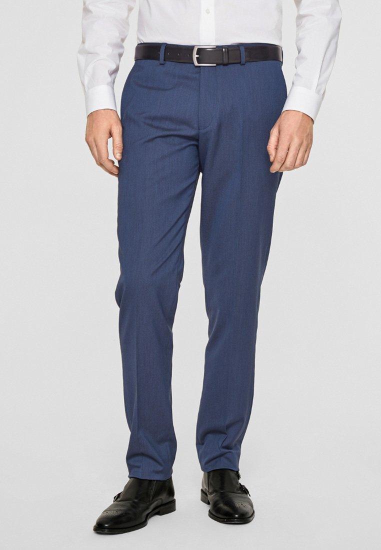 s.Oliver BLACK LABEL - CESANO  - Suit trousers - dark blue