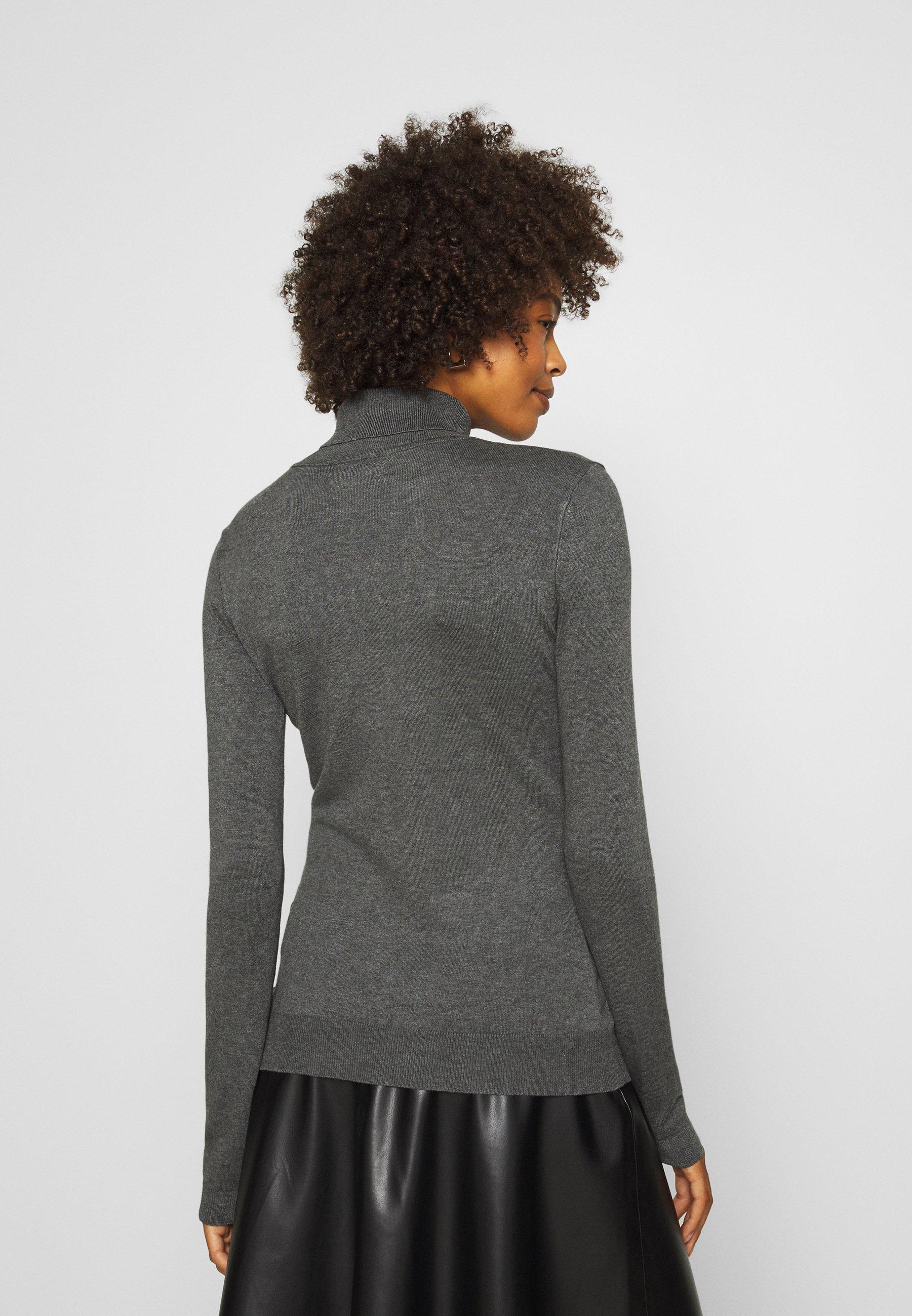 Damen BASIC- TURTLE NECK - Strickpullover