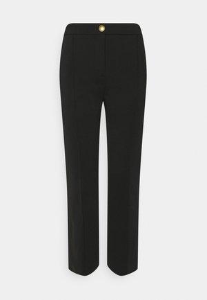 GAIO PANTALONE PUNTO - Trousers - black