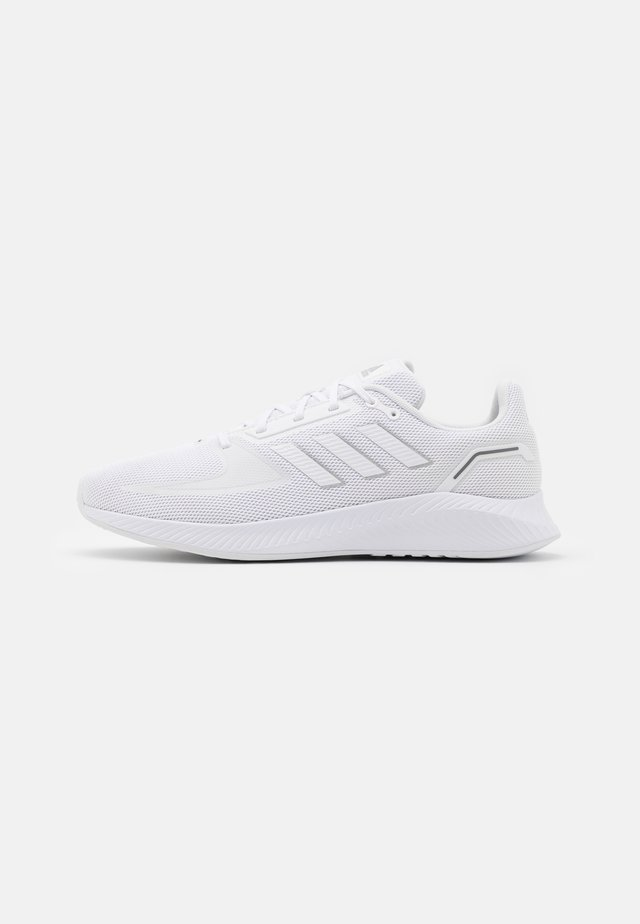 RUNFALCON 2.0 - Zapatillas de running neutras - footwear white/silver metallic