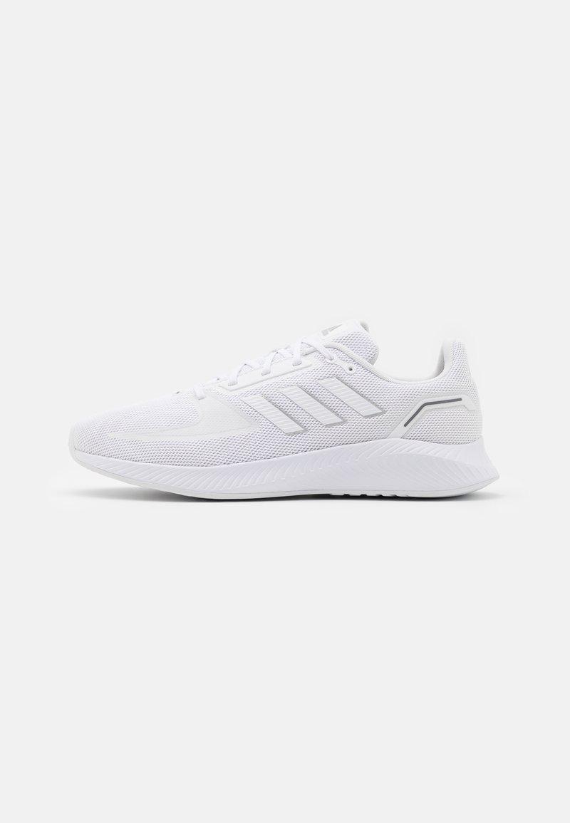 adidas Performance - RUNFALCON 2.0 - Neutrala löparskor - footwear white/silver metallic