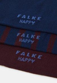 FALKE - HAPPYBOX 3 PACK - Socks - red/blue - 1