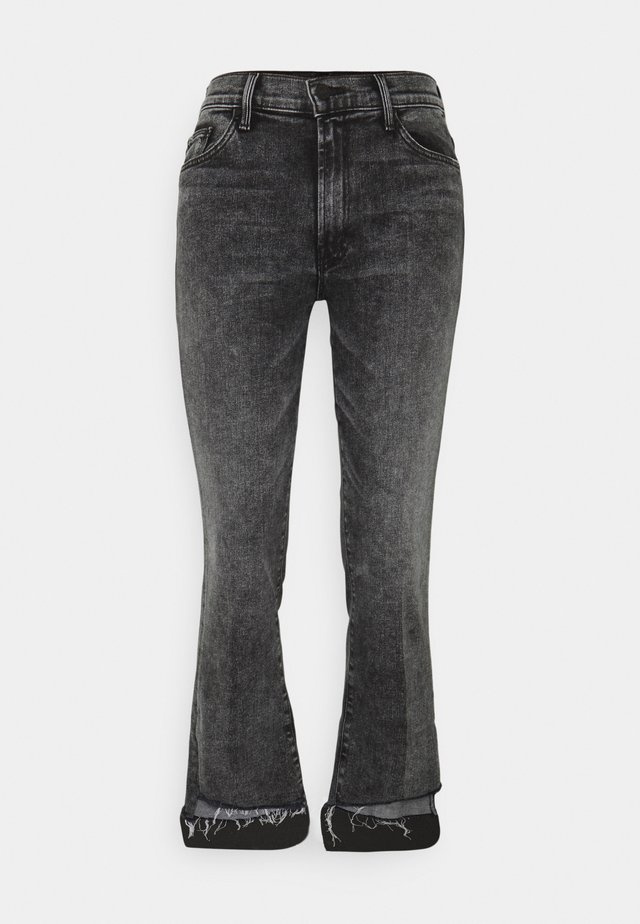 THE INSIDER CROP STEP FRAY - Jeans Skinny Fit - grey denim