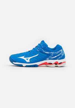 WAVE VOLTAGE - Volejbalové boty - french blue/white/ignition red