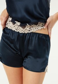 Intimissimi - PRETTY FLOWERS - Pyjama bottoms - blaui/ntense blue/vanilla - 0