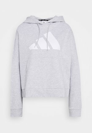 HOODIE - Bluza z kapturem - light grey