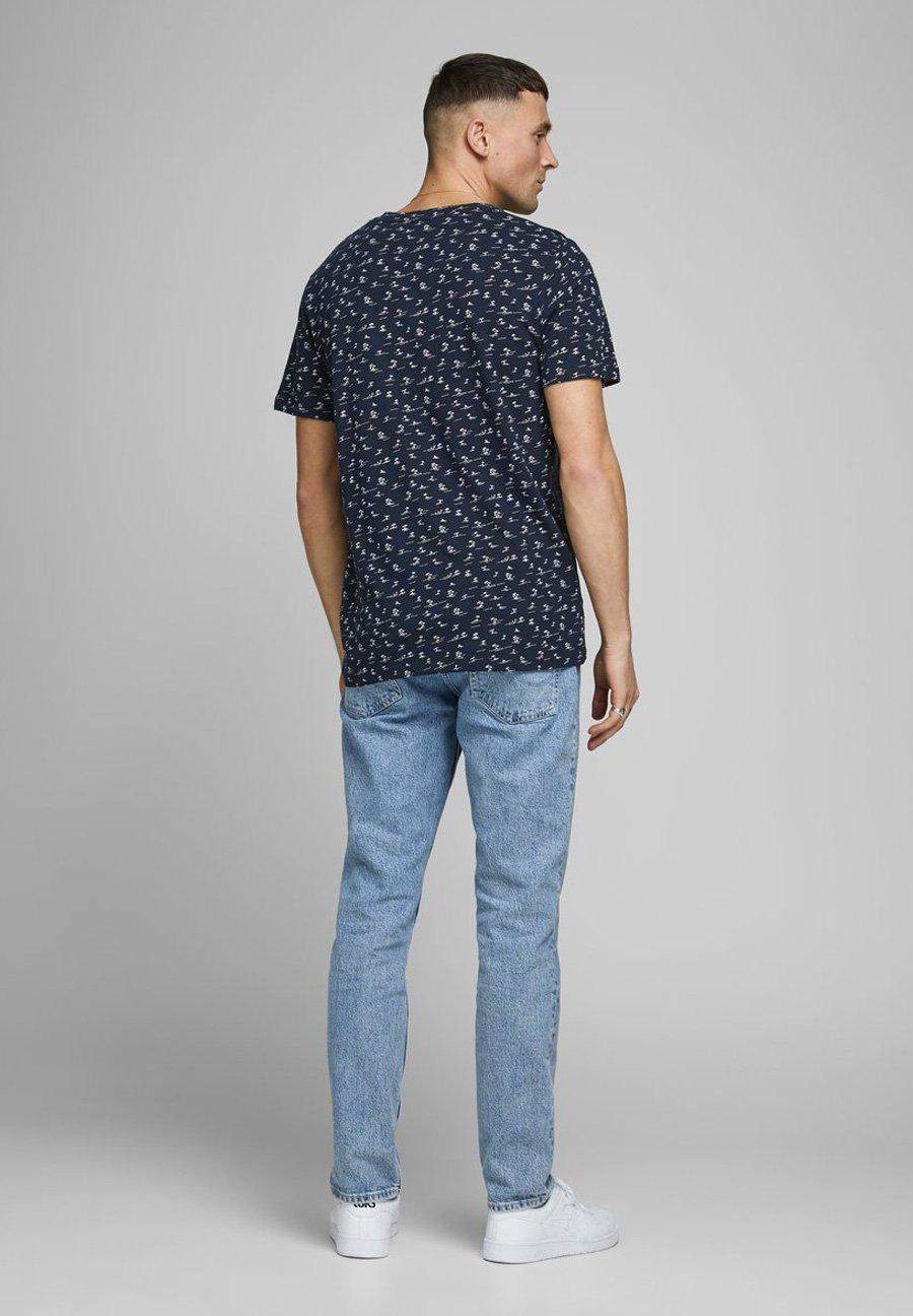 Jack & Jones Print T-shirt - navy blazer jF1gZ