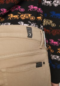 7 for all mankind - SLIMMY - Jean slim - beige - 5