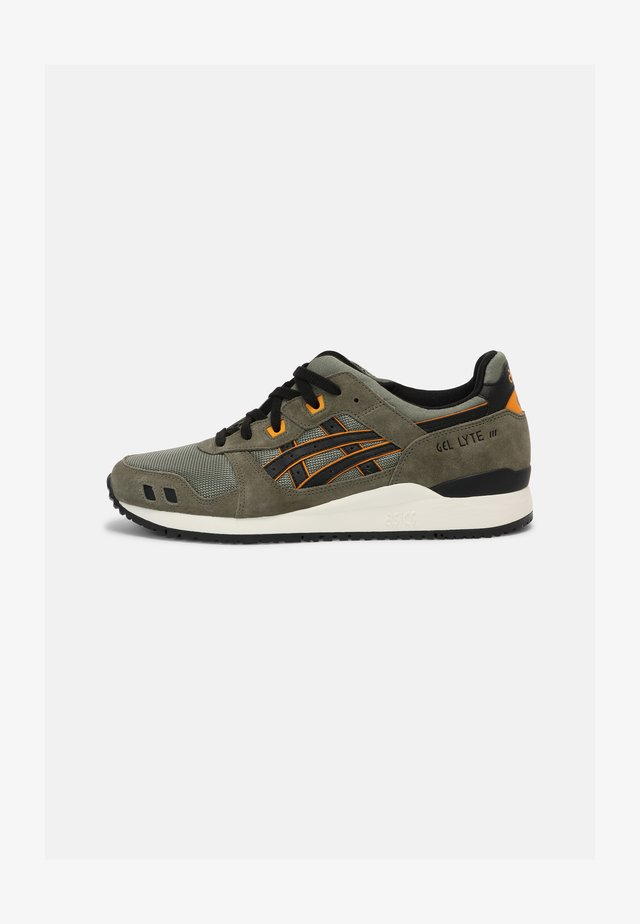 GEL-LYTE III OG UNISEX - Zapatillas - lichen green/black