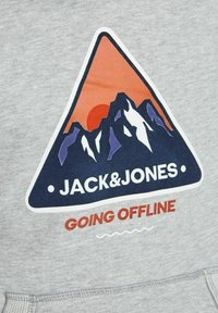 Jack & Jones Junior - Luvtröja - light grey melange - 6