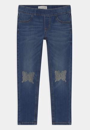 MINI IDA - Slim fit jeans - blue denim