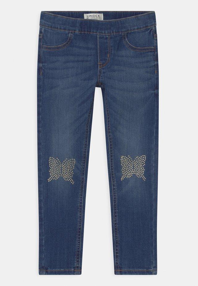 MINI IDA - Jeans slim fit - blue denim